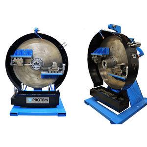 electric chamfering machine / pneumatic / hydraulic / hand-held