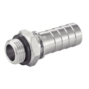 hose coupling with male thread
