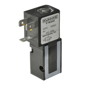 flange solenoid valve / direct-operated / 3/2-way / NO