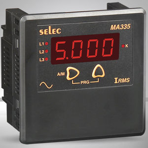 digital ammeter / AC / panel-mount