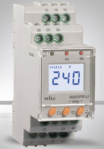 over-voltage protection relay / under-voltage / phase sequence / phase loss