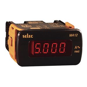 digital ammeter / AC / single-phase / panel-mount