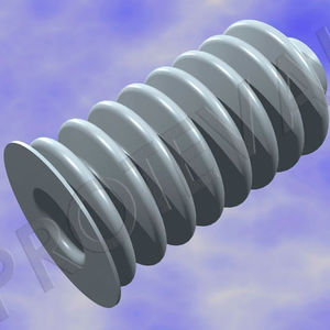 cylindrical protective bellows