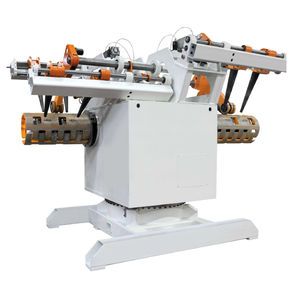 motorized decoiler / for press feed / double
