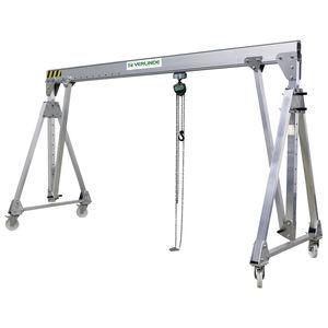 mobile gantry crane / for workshops / aluminum