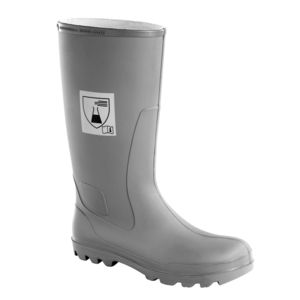 industrial use safety boots / for the chemical industry / anti-slip / waterproof