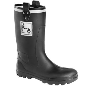 firefighter safety boots / anti-slip / waterproof / chemical protection