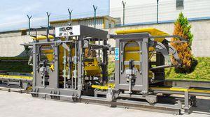 concrete block press