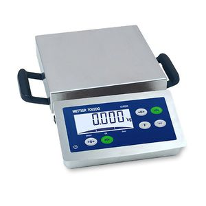 benchtop scale / compact / with LCD display / with detachable indicator