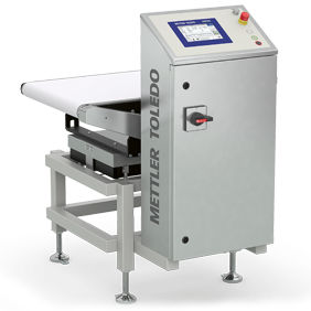 packaging checkweigher / dry materials / for the food industry / for industrial use