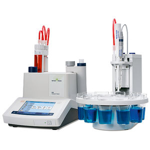 titration system with automatic sample changer