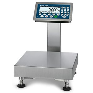 platform scale checkweigher / for production / for hygienic applications / for labels