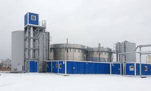biological waste water treatment