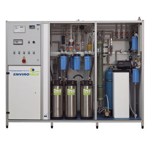 membrane microfiltration unit / for water / compact