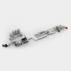 aseptic packaging line