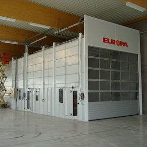 bff1bd165aaf Paint booth, Painting booth - All industrial manufacturers - Videos
