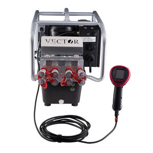 hydraulic piston pump / electric / remote control / three-stage