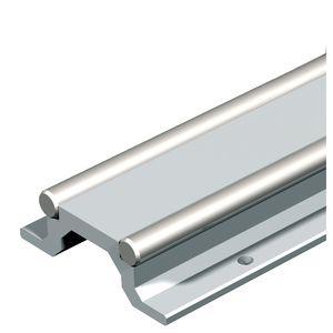 linear rail / guide / steel / aluminum