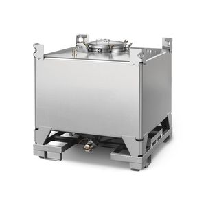 stainless steel IBC container / storage