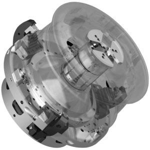 power chuck / 3-jaw / wheel / clamp