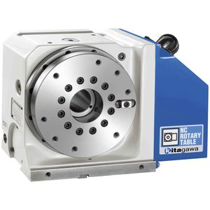 motor-driven rotary table / vertical / for machine tools / NC