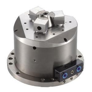 power chuck / 3-jaw / machining / pneumatic