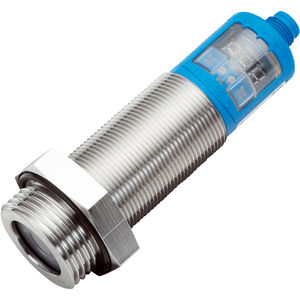 ultrasonic level sensor / for liquids / bulk solids / analog