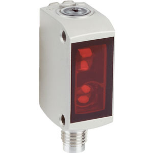 through-beam photoelectric sensor / with background suppression / retroreflective / rectangular