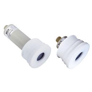 ultrasonic level sensor / for liquids / analog / high-precision