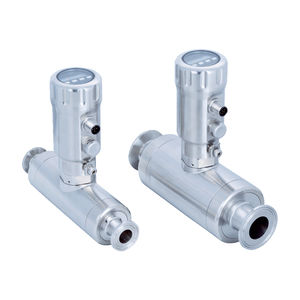 ultrasonic flow meter / for water / for oil / compact