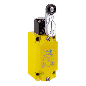 electromechanical switch / snap-action / with roller lever / safety