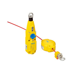 safety switch / cable-pull / emergency stop / metal