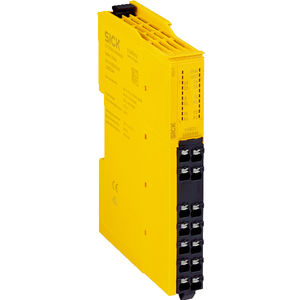 safety relay / SIL / DIN rail / plug-in