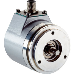 absolute rotary encoder / with analog interface / solid-shaft / multi-turn
