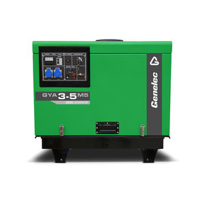 single-phase generator set / diesel / portable / 50 Hz