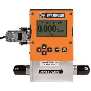 thermal mass flow meter