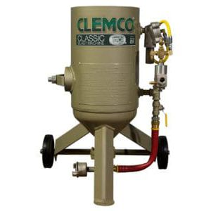 manual sandblasting machine / pressure / mobile