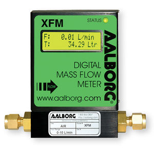 thermal flow meter / mass / for gas / RS485