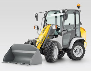 wheeled loader