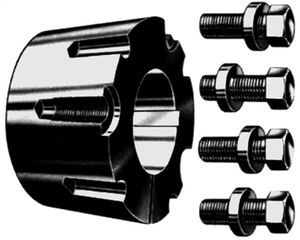 rigid coupling / taper sleeve / flange
