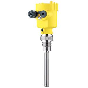 vibrating rod level switch / for bulk materials / stainless steel / threaded