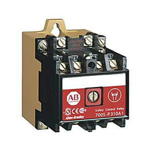 safety relay / 2 NC / modular / DIN rail