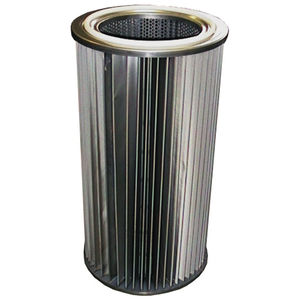 air filter cartridge / dust / metal / washable