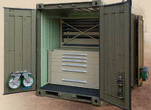 metal shipping container / storage