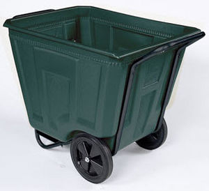 galvanized steel waste container