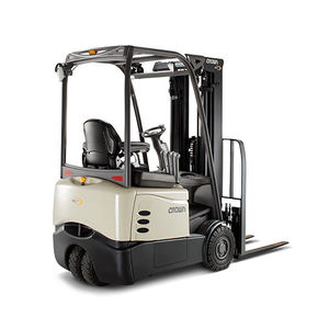 electric forklift / ride-on / outdoor / industrial