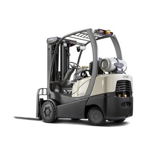 LPG forklift / gas / ride-on / indoor