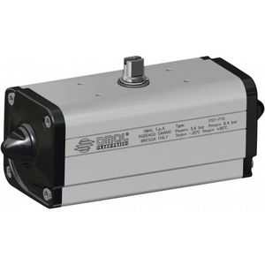 pneumatic valve actuator / rotary / direct-drive / double-acting