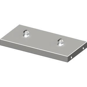 rectangular clamping plate