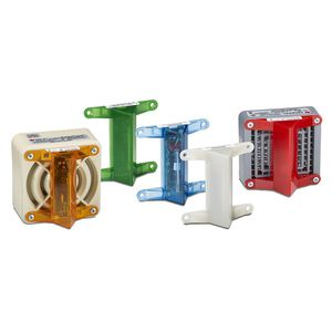 LED flashlight / alarm indicator / compact / stroboscopic
